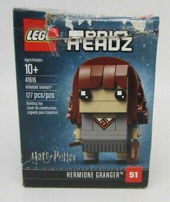 New! LEGO BrickHeadz - Hermione Granger Building Kit - 41616 (READ)