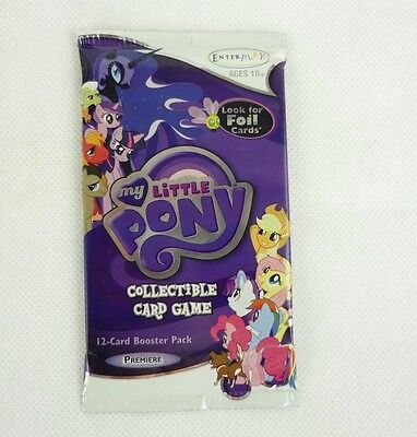 My Little Pony Sammelkarten Collectible Card Game 12-Card Booster Pack