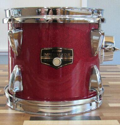 "Recent Tama Imperialstar 8"" x 7"" Deep Candy Apple Mist Wrap Tom Drum"