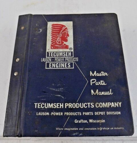 TECUMSEH - LAUSON - POWER PRODUCTS ENGINES - MASTER PARTS MANUAL - 60