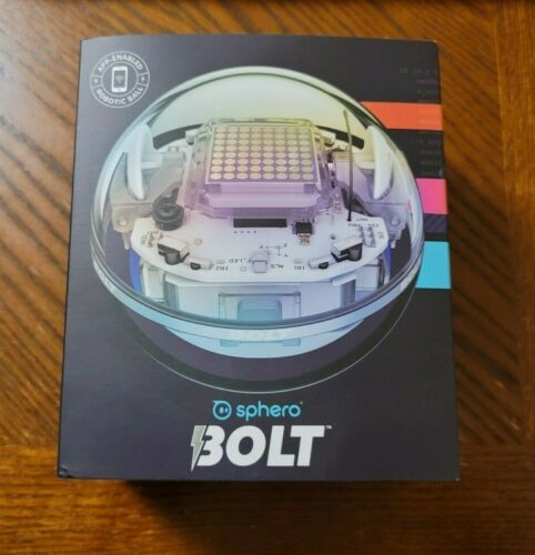 Ends 2/1 11AM PST! Sphero Bolt Coding Robot Ball, Clear