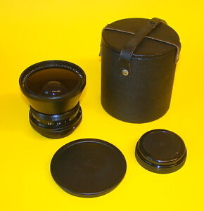 Weitwinkel Objektiv Carl Zeiss Jena FLEKTOGON 4/50 MC Bajonett Pentacon six TOP