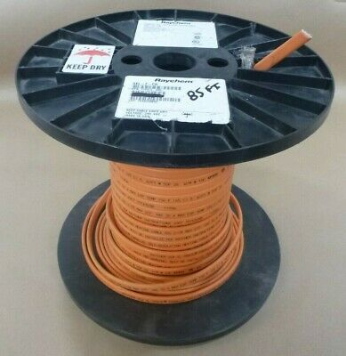Raychem Xl-trace 8xl-2-cr Parallel Self-regulating Heating Cable 85 85ft. Usa