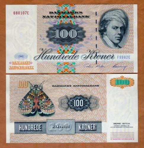 Denmark, 100 Kroner, serie 1972A, 1998, P-54i, UNC