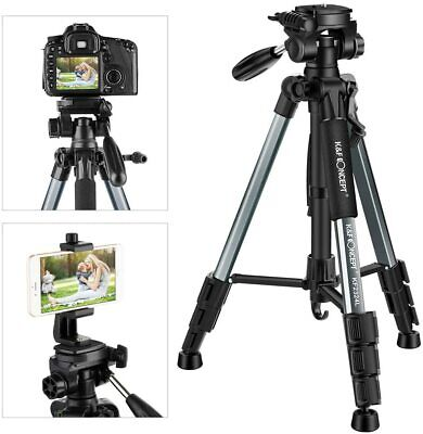 K&F Concept 56''Compact Lightweight Travel Phone OSMO Pocket DSLR Camera Tripod