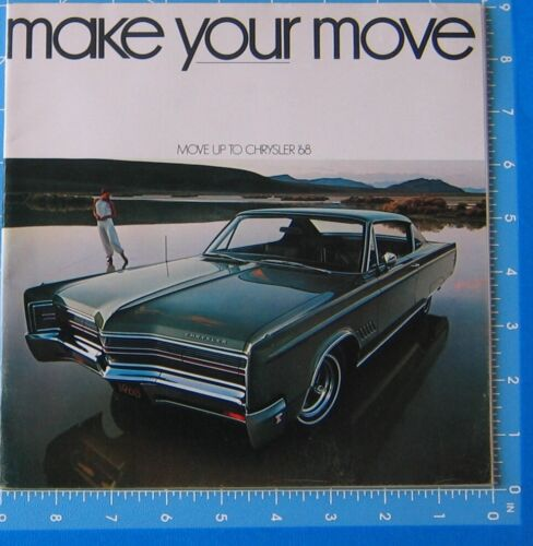 Sales Brochure 1968 Chrysler