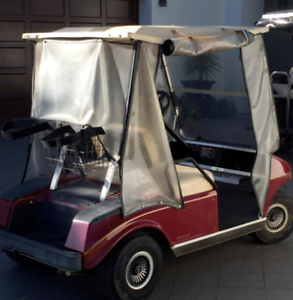 2 seater club car golf cart buggy with charger Hope Island Gold Coast North Preview