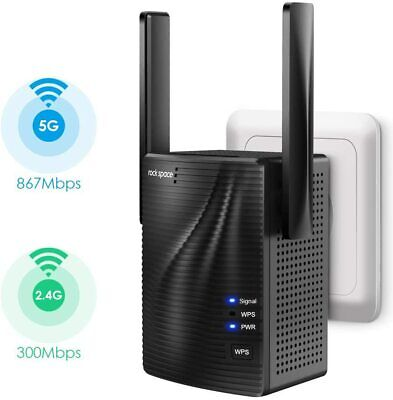 Rock Space Dual Band WiFi Extender AC-1200 M26+