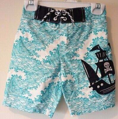NWT Gymboree Ocean / Pirate Ship Bathing Suit Boy's Size 7-8](Pirate Suit)