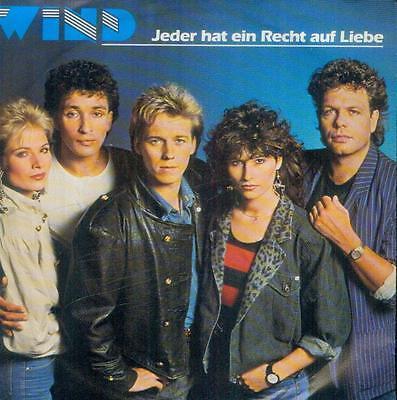 """7"""" Wind/Jeder Hat Ein Recht Auf Liebe"""