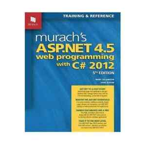 Murach's ASP.NET 4.5 Web Programming with C# 2012 by Delamater Waterloo Inner Sydney Preview