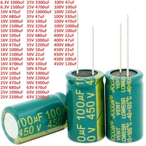 CDE 35V 18000UF//MFD Filtered audio electrolytic capacitor 105c USA #G1594 XH