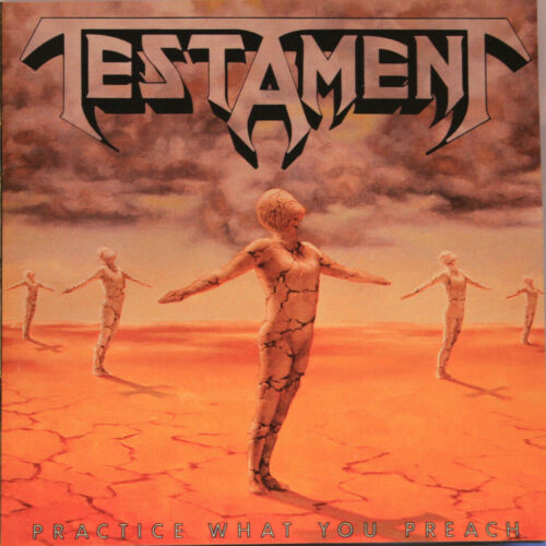 Testament : Practice What You Preach Cd With Booklet  1989  (club Edition)
