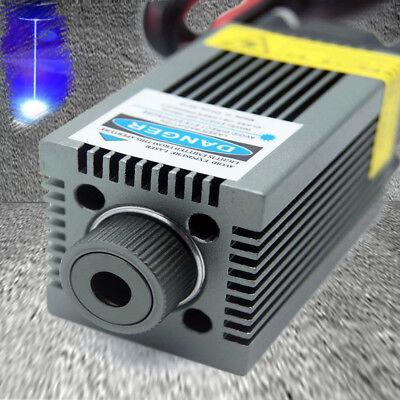 Pwmttl Blue Laser Engraving Modulefocusable 450nm 4.5w High Power Etcher Laser