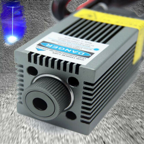 PWM Blue Laser Engraving Module/Focusable 450nm 4.5W High Power Etcher Laser