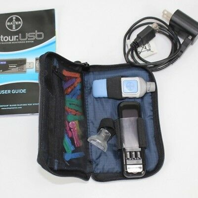 BAYER CONTOUR USB BUNDLE Bayer Microlet 2 Blood Glucose Testing and Charger
