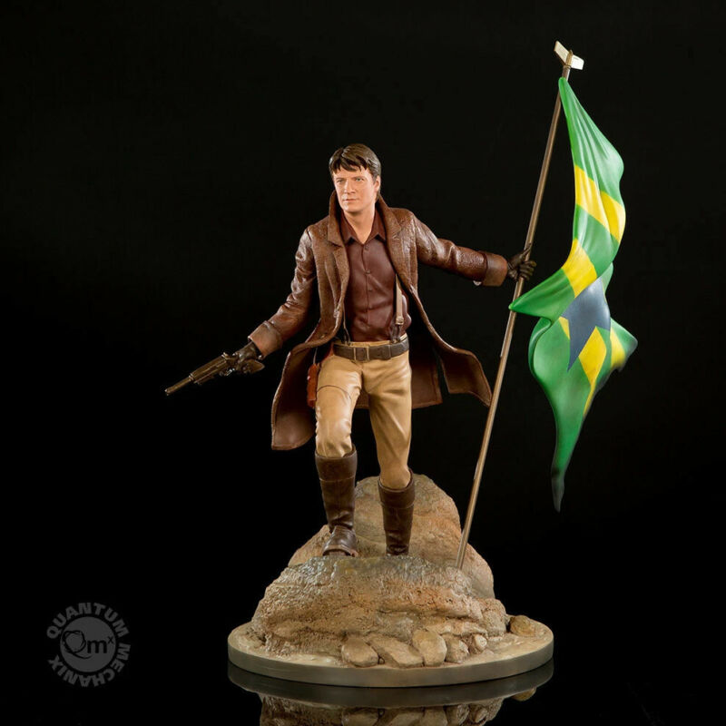 QMX Serenity Firefly Malcolm Reynolds Master Series 1:6 Scale Statue