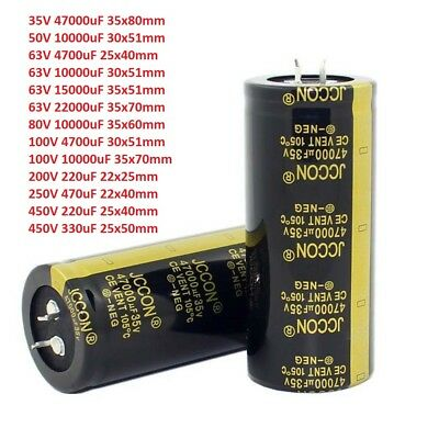 35v-450v High Frequency Snap-in Electrolytic Capacitors Low Esr 220uf-47000uf