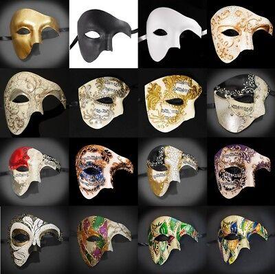 ske, Maskenball-Maske für Männer, Phantom Maskenball-Maske (Masken Für Männer)