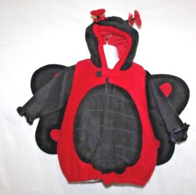 Old Lady Halloween Baby (Old Navy Child Lady Bug Costume Size 12-24 Months Baby Halloween Toddler)