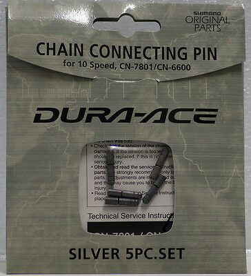 Shimano Dura Ace Chain 5 connection pins 10 speed Y08X98011
