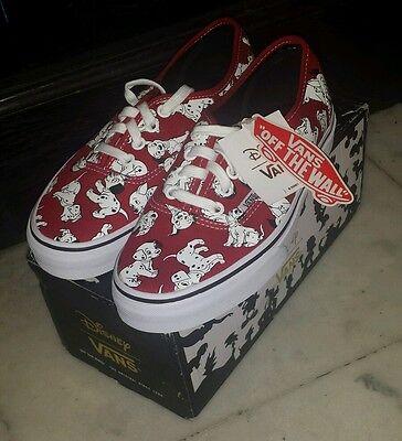 vans disney dalmatians size 4.5 men/size 6 women skate shoes for $400