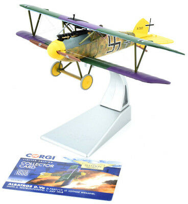Corgi Albatros D.Va - July 1918 1:48 Die-Cast Airplane AA37808