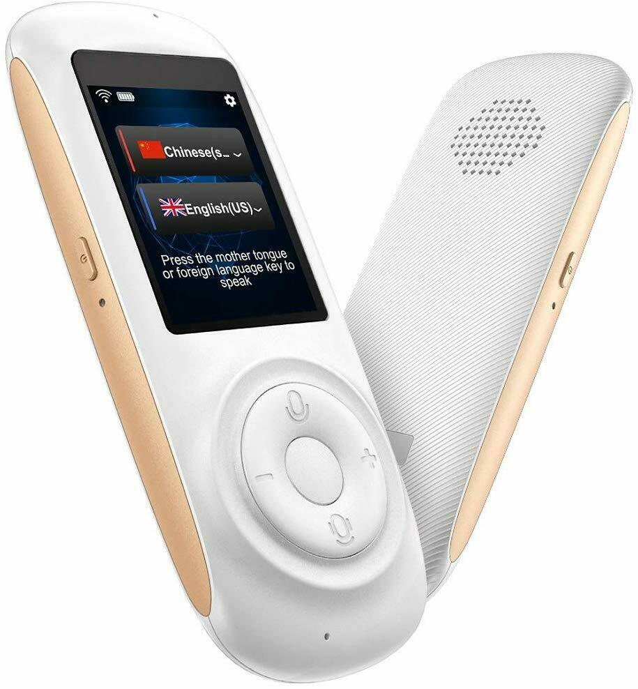 Translator Device Smart Voice Translator with 2.4inch HD Touch Screen Support 70