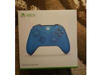 Blue xbox one control
