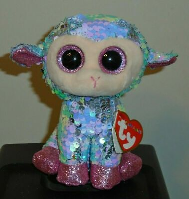 Ty FLIPPABLES ~ TULIP the Lamb Changing Sequins 6