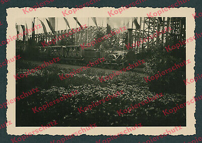 Adler Lokomotive Nachbau Lokführer Reichsbahn KdF-Stadt Olympiade Berlin 1936