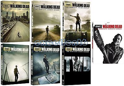 The Walking Dead: Complete Seasons 1-7 (DVD, 2017 31-Disc Set) 1 2 3 4 5 6 7 New for sale  Shipping to Nigeria