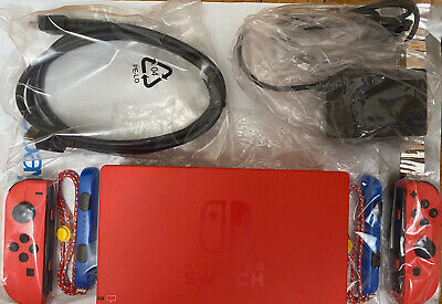 Nintendo Switch MARIO RED & BLUE EDITION Charging Dock & JOYCON Only