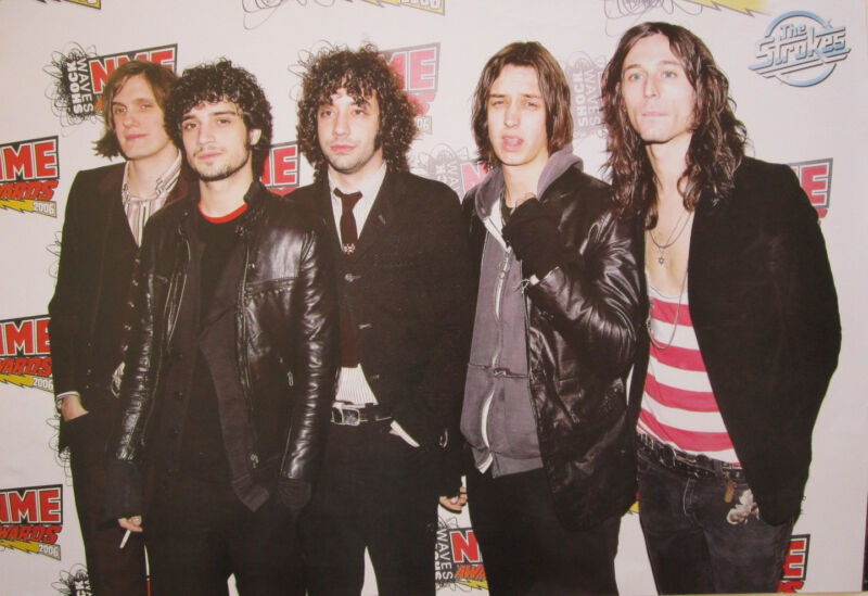"""THE STROKES """"BAND AT NIME AWARDS"""" POSTER FROM ASIA-Garage Rock/Post-Punk Revival"""
