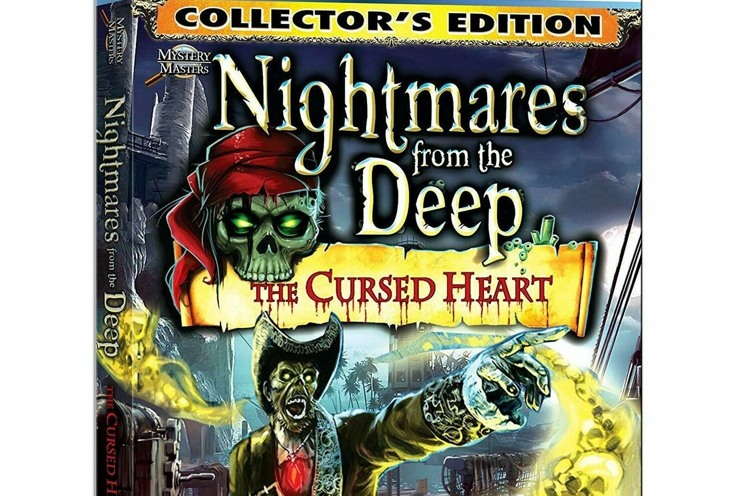 Computer Games - Nightmares From The Deep The Cursed Heart PC Games Windows 10 8 7 XP Computer