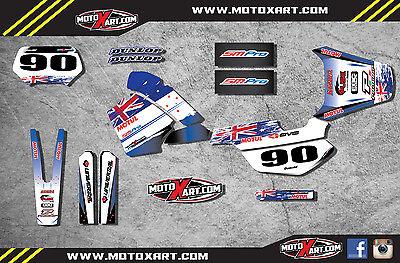 Full  Custom Graphic  Kit -AUSSIE PRIDE - YAMAHA TT600 S-E 1992 / 2005 stickers