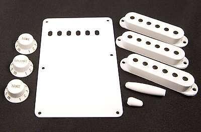 Genuine Fender Aged White Vintage Style Accessory Kit for Strat 099-1362-000 NEW