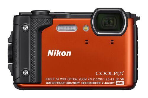 Nikon COOLPIX W300 16.0-Megapixel Waterproof Digital Camera Orange 26524