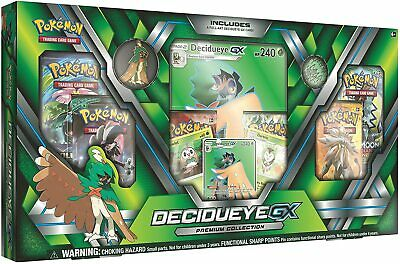 Pokemon TCG: Sun & Moon Guardians Rising Decidueye-GX Premium Collection Box