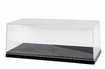 Acrylic Display Case for 1:18 scale Car w. Black base for Di