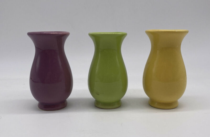 Small Bud Vases Set Of 3 NIB