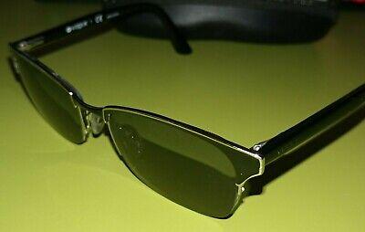 Vogue Eyewear VO3825 Semi-Rimless Black/Silver Eyeglassess Frames Glasses