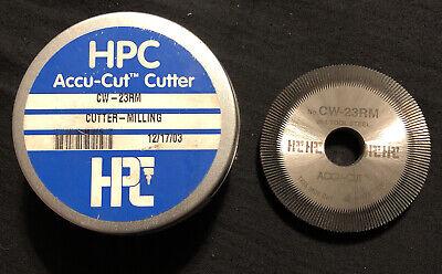 Hpc Accu-cut Cutter Cw-23rm Cutter-milling Key Cutter Wheel