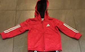 Toddler Adidas Hooded Tracksuit