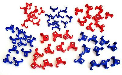 60 Goliath Industrial Abs 1 4   3 8   1 2  Replacement Socket Rack Rail Clips