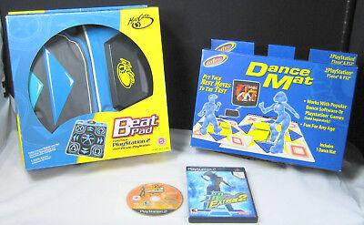 Mad Catz Mat - Mad Catz Beat Pad Dance Mat Controller (Sony PlayStation 1 or 2) Intec Dance Mat