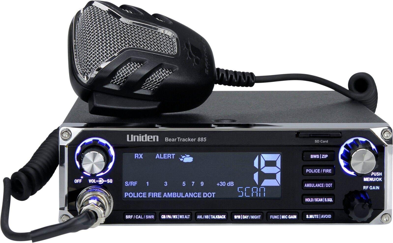 BearTracker 885 Hybrid CB Radio/Digital Scanner. Buy it now for 319.94