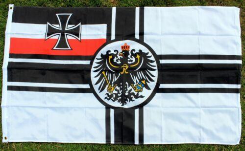 WW1 GERMANY NAVY IMPERIAL BATTLE FLAG 5 x 3