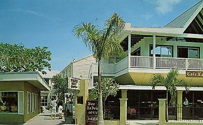 Key West, FL Pirates Alley shops, Florida, chrome postcard