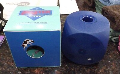 BUSTER CUBE DOG TOY - DISPENSES TREATS! - LARGE  NEW Buster Cube Dog Toy